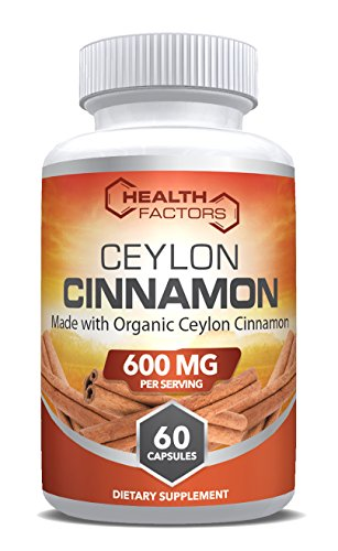 Organic Ceylon Cinnamon Capsules For Blood Sugar Support