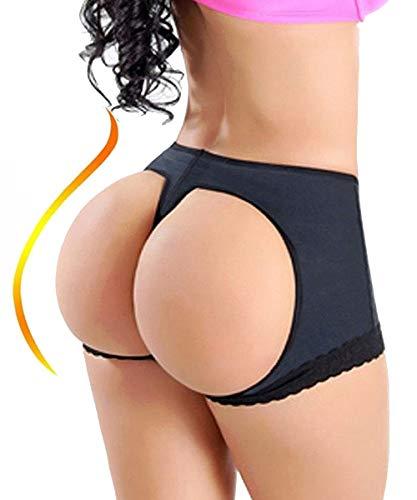 658da4976bde FUT Women's Butt Lifter Lace Boy Shorts Body Shaper Enhancer Panties