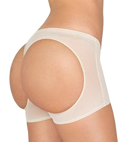 83f76ef4a AIMILIA Butt Lifter Shapewear Enhancer Panties Boy Shorts Body Shaper for  Women