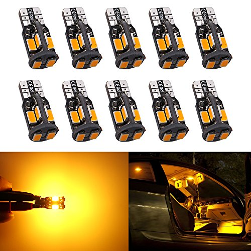 ENDPAGE 3157 3156 3057 3056 LED Bulb 2-pack, Amber Yellow