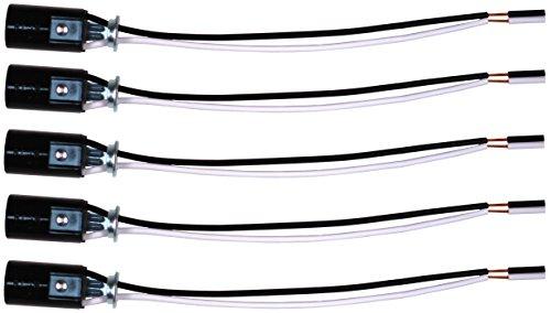 Westinghouse 22382 4 LITE Candelabra Base Black 4 Light Harness Set Socket